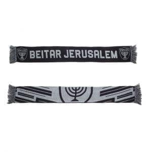 """צעיף בית""""ר ירושלים שחור"""