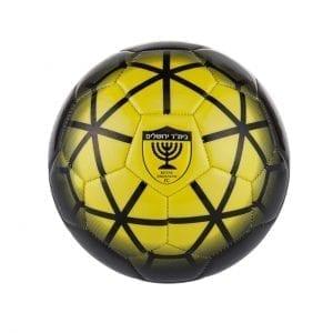 כדורגל מס' 5 צבע צהוב משולשים