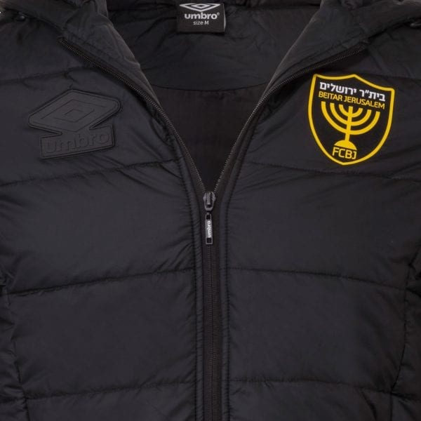 """מעיל חורף שחור יומברו בית""""ר ירושלים"""