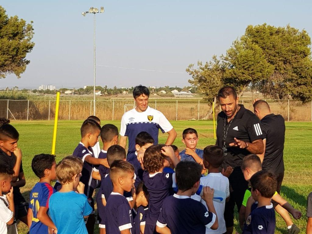 עידן טל וילדי בית הספר לכדורגל לכיש