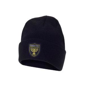 """כובע צמר שחור בית""""ר ירושלים"""