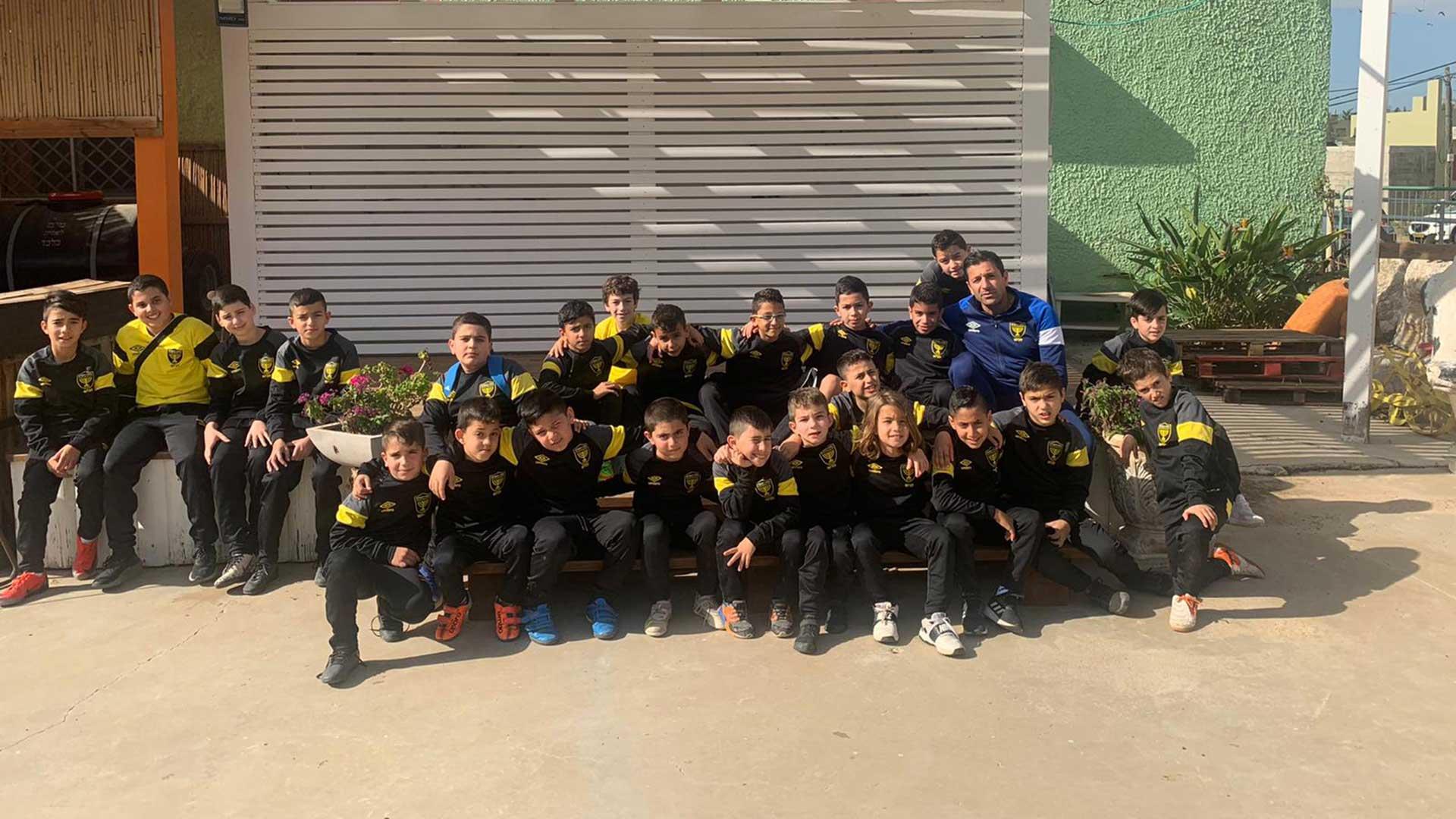 ילדי בית הספר לכדורגל לכיש