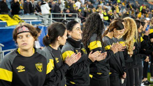 """בית הספר לכדורגל לבנות של בית""""ר ירושלים יוצא לדרך"""