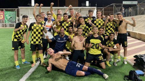 באים לתת את הכל: נערים ב׳ מגיעים לחצי גמר גביע המדינה