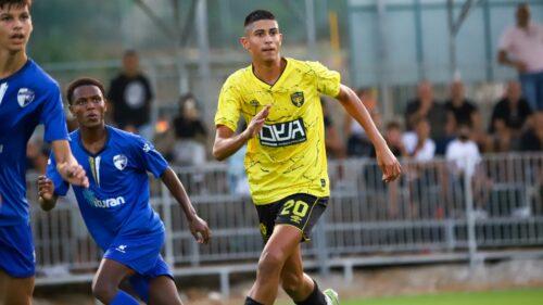 בתוספת הזמן: 1:1 לקבוצת הנוער בנתניה